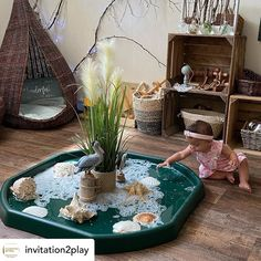 Eyfs Activities, Infant Activities, Nature Activities, Home Learning, Fun Learning, Baby Room Nursery School, Communication Friendly Spaces, Tuff Tray Ideas Toddlers, Reggio Emilia Classroom