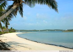 Tahiti Beach - Abaco Islands in Bahamas. I've been here but sooooo wanna go back.