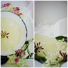 Elderflower + Honeysuckle Jelly recipe