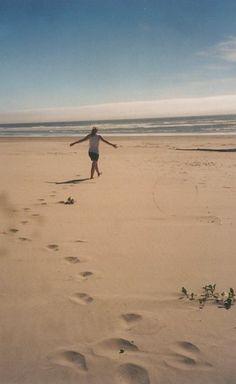 Manzanita, Oregon. East Coast Beach.
