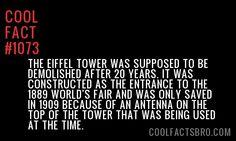 Cool Fact #1073