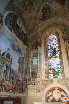 Santa Maria Novella Firenze:Chiesa di Santa Maria Novella in Centro a Firenze - Cappella Strozzi