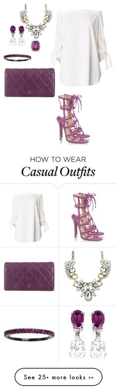 """""""Casual"""" by audylove on Polyvore featuring TIBI, Jimmy Choo, Chanel and N°21"""