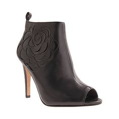 Womens Vince Camuto Sarita High Heel Boots Black Leather - Was $130.00 - SAVE $59.00. BUY Now - ONLY $70.95.