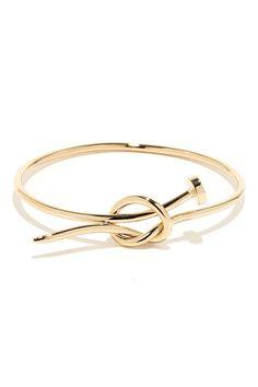 Gold Nail Bracelet
