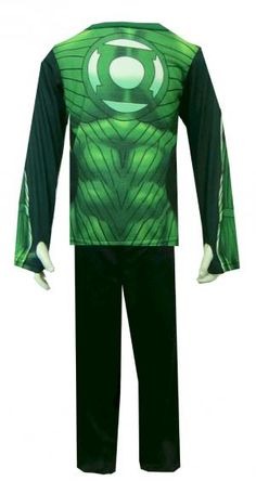 comics green lantern suit pajama set pajamas for boys long pants green