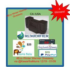 Kawartha Lakes Mums – Rumidifier Winter Warmer Giveaway!