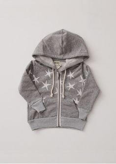 Bobo Choses Hooded Sweat Shirt Stars - Baby
