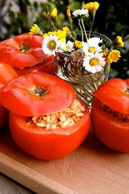 Apron and Sneakers - Cooking & Traveling in Italy and Beyond: Tomatoes Stuffed With Rice (Pomodori al Riso)