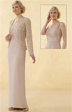 Floor-length Coat/ Jacket Sheath Square Mother's #Dress Style Code: 00153 $139