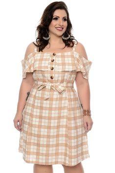 Vestido Linho Plus Size Driman Vestidos Plus Size, Plus Size Dresses, Plus Size Outfits, Cute Dresses, Casual Dresses, Fashion Dresses, Tunic Dresses, Summer Dresses, Curvy Fashion