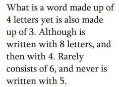 word=4, yet=3, and so on