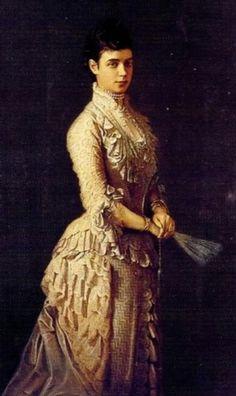 Tzarin Maria Feodorovna 1877