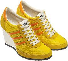 the latest 06412 290d8 Jeremy Scott x Adidas Arrow Wedge Sneakers