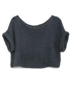 Yoga Clothes : Top easy to knit. No tutorial included. Yoga Clothes : Top easy to knit. No tutorial included. Crochet Clothes, Diy Clothes, Online Clothes, Crochet Top Outfit, Sewing Clothes, Yoga Outfits, Look Retro, Knitting Kits, Knitting Supplies