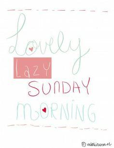 Lazy Sunday Quote