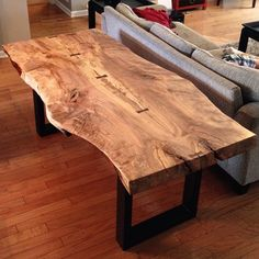 Here's one more shot of the finished top. Amazing slab. Backstory - this tree fell near Winston Salem due to high winds in 2008. These slabs had sat in a warehouse since 2009 after being kiln dried. I enjoyed working with this slab and can't wait for the next one.
