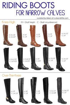 Riding Boots for Narrow Calves
