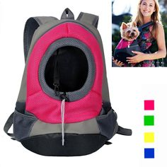 Dog Carrier, YAMAY® Pet Cat Carrier Bag Front Pack Backpack for Small Dogs Girl Boy Leather   Nylon Mesh Hands Free Soft Sided Head Out Shoulder Travel Bag Hands Free for Bicycle Bike Car Hiking >>> Visit the image link more details. (This is an affiliate link and I receive a commission for the sales)