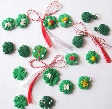 Imagini pentru martisoare Polymer Clay, Drop Earrings, Christmas Ornaments, Holiday Decor, Mai, Home Decor, Fimo, Decoration Home, Room Decor