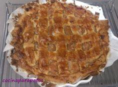 cocina para patos: TARTA DE MEMBRILLO Y NUECES