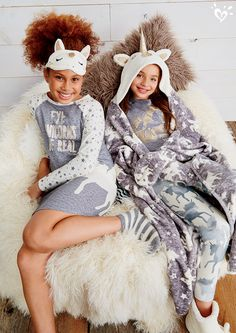 The perfect cozy outfits for the best night in with her besties!