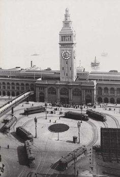 San Francisco 1900   San Francisco Ferry Building Circa 1900s