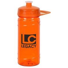 This imprinted water bottle takes your logo by storm! Custom Water Bottles, Art Tips, Drink Bottles, Handle, Logo, Drinks, Top Rated, Products, Drinking