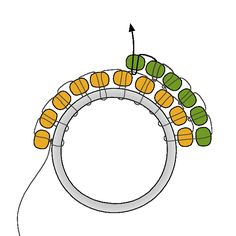 Brick Stitch on a Component | from Fusion Beads.#Seed #Bead #Tutorials