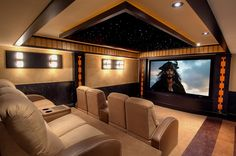 My dream Home Theater...!!! I could watch Johnny over and over and over again... LOL