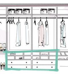 Stauraumwunder für den Schrank | Sale bei Westwing Storage, Closet, Home Decor, Purse Storage, Homemade Home Decor, Larger, Closets, Cabinet, Interior Design