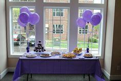 Lavender and Purple Bridal shower