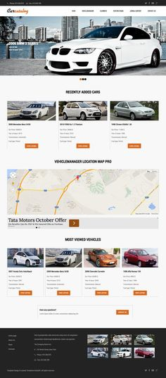 Car Catalog Joomla Private Auto Dealers Template