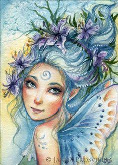 Janna Prosvirina Lily Blue