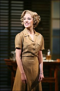 Laura Osnes in South Pacific Photo by Joan Marcus Playbill.com