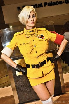 Marie-Claude Bourbonnais as Seras Victoria by RonGejon.deviantart.com on @DeviantArt