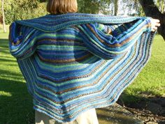 knit swirl sweater - loved making it, love wearing it, will make another one....