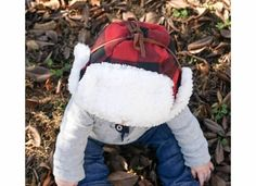 Kids Bomber Hat Plaid Flannel Collection by AmosandCompany