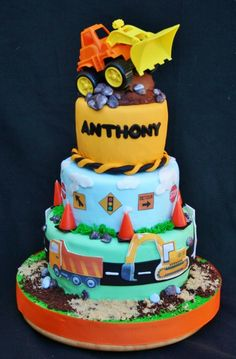 Another construction cake