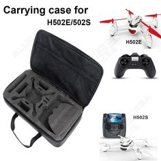 Free Shipping Carrying Bag Case Organizer For Hubsan X4 Desire H502S H502E Drone  RC Quadcopter