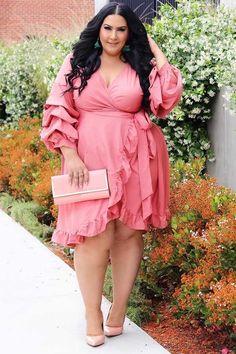 Plus Size Women S Dressy Dresses Look Plus Size, Plus Size Girls, Plus Size Women, Plus Size Dresses, Plus Size Outfits, Plus Size Inspiration, Modelos Plus Size, Cool Summer Outfits, Dressy Dresses
