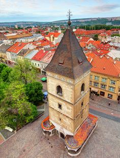 Urbans Tower in Kosice, Slovakia Bratislava, Places To See, Places Ive Been, Stuff To Do, Things To Do, Montenegro, Czech Republic, Hungary, Croatia