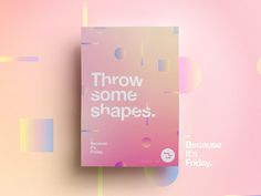 Made You Look  | 33 | Throw some shapes. by  StudioJQ  #Design Popular #Dribbble #shots