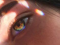 Image about aesthetic in Eyes 👀💛 by - Rainbow Photos Aesthetic Eyes, Rainbow Aesthetic, Aesthetic Beauty, Travel Aesthetic, Pretty Eyes, Beautiful Eyes, Photo Oeil, Savage Girl, Rainbow Eyes