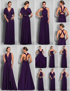 Shop sexy club dresses, jeans, shoes, bodysuits, skirts and more. Infinity Dress Ways To Wear, Infinity Dress Styles, Infinity Dress Bridesmaid, Purple Bridesmaid Dresses, Infinity Dress Tutorial, Multiway Bridesmaid Dress, Casual Homecoming Dresses, Multi Way Dress, Fashion Dresses