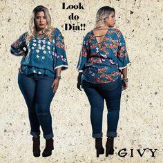 Boa Tarde Divas!! Pra finalizar essa Segunda- feira vamos de calça jeans com essa bata fashion !!Um look super confortável!! Vem pra Givy buscar a sua!!  Confira :www.guvy.com.br