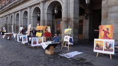El arte popular en Madrid.