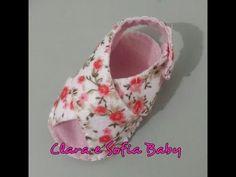 Sandalia de Bebê Transpassada em feltro feito a mão! - YouTube