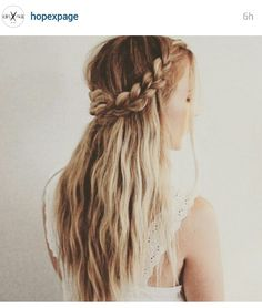 Bride hair @hopepage