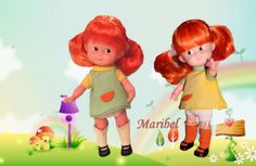 Cuca de Famosa Pippi ,se vendio en los años 70 con estos dos conjuntos originales . Los conjuntos son iguales , solo cambia el color de los vestidos y de los calcetines.Son preciosas estas muñecas Cucas , mucho más bonitas al natural. Pippi Longstocking, Minis, Disney Characters, Fictional Characters, Dolls, Disney Princess, Natural, Vintage, Antique Dolls